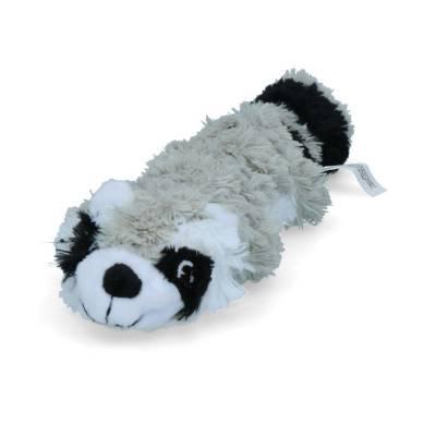 Hunde Spielzeug Kong Scrunch Waschbär SM, Größe:27 cm