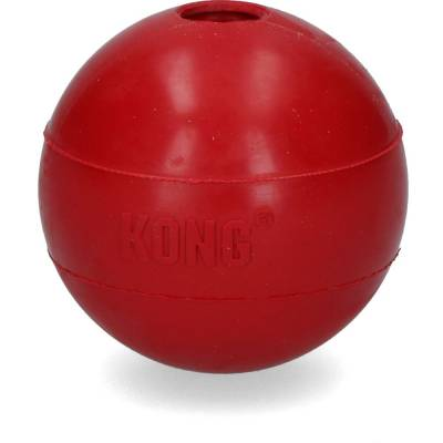 Hunde Spielzeug Ball Kong Ball mit Loch M L, Länge:110 mm,Breite:7 cm,Höhe:14 cm
