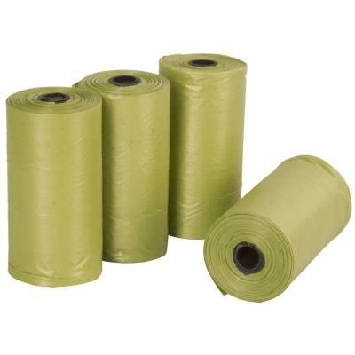 Hundekotbeutel grün 4x 20 Stk biologisch abbaubar