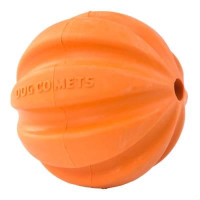 Hunde Spielzeug Ball Hund Kometen Swift-Ball Tuttle, Farbe:Orange, Durchmesser:6 cm