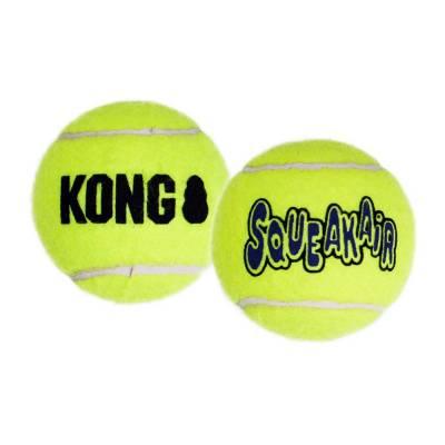 Hunde Spielzeug Ball Kong Air Squeaker Tennisball L, Inhalt:1 Stück,Durchmesser:7,620 mm