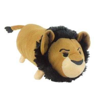 Hunde Kuscheltier Stofftier Disney Tsum Tsum Scar M, Höhe:90 mm,Länge:250 mm,Breite:90 mm