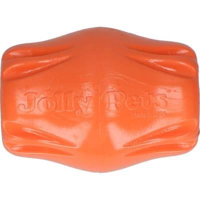 Hunde Spielzeug Jolly Flex-n-Chew Bobble Orange L, Länge:9,5 cm