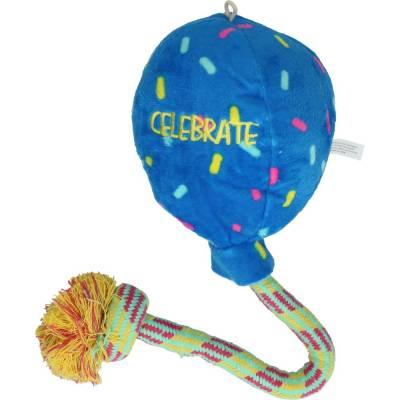 Hunde Spielzeug Kong Occasions Luftballon L, Farbe:Blau