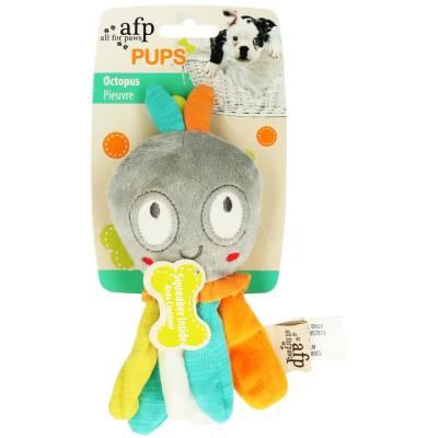 Hunde Kuscheltier Stofftier AFP Pups Octopus, Maße:19,5 x 8 x 5,5 cm