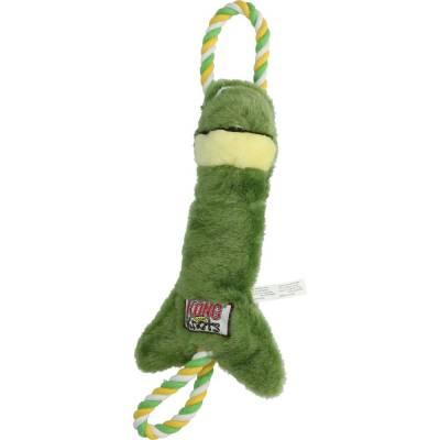 Hunde Spielzeug Kong Frosch SM, Maße:40 x 14 cm