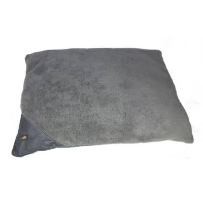Hunde Schlafkissen AFP Lammwolle Kissen Bett L Grau, Maße:L 107 x 74 cm