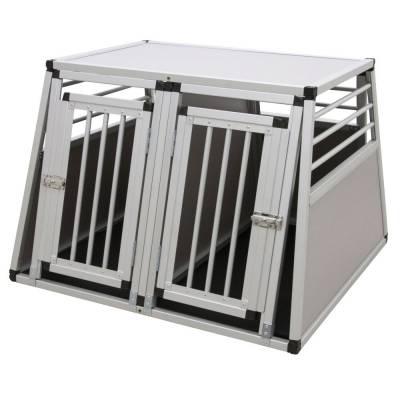 Alu-Transportbox Barry zweitürig 92x97x68cm