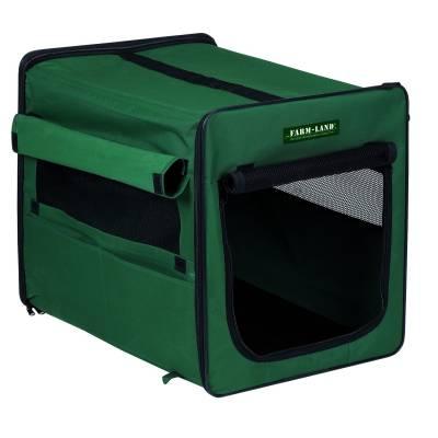 Hundetransportbox Grün - Transportbox faltbar