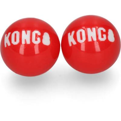 Hunde Spielzeug Ball Kong Signature Ball 2-pk Sm, Inhalt:2 Stück,Länge:1150 mm