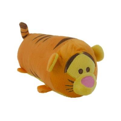Hunde Kuscheltier Stofftier Disney Tsum Tsum Tigger S, Höhe:7 cm,Länge:17 cm,Breite:7 cm