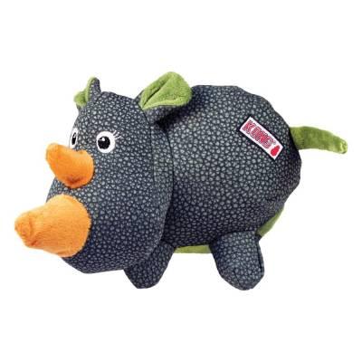 Hundespielzeug Kong Nashorn extrem Robuste Materialien Modell:Nashorn,Größe:14 cm