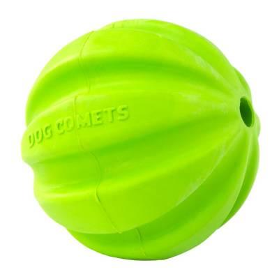 Hunde Spielzeug Ball Hund Kometen Hale-Bopp Grün,Durchmesser:6 cm