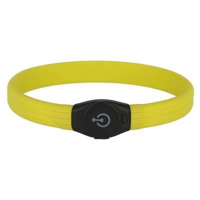 Maxi Safe LED-Halsband Langhaar versch. Farben 65x25cm