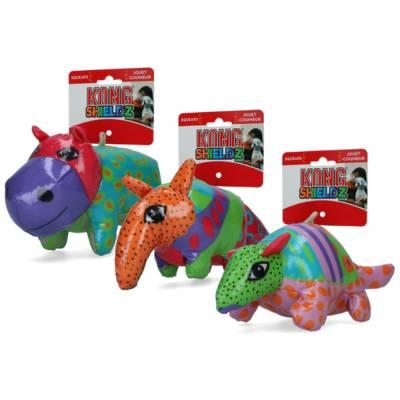 Hundespielzeug Kong Gürteltier für besonderen Spielspaß Modell:Gürteltier,Größe:220 mm