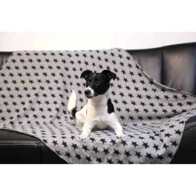 Hundedecke Stella 140x100cm grau