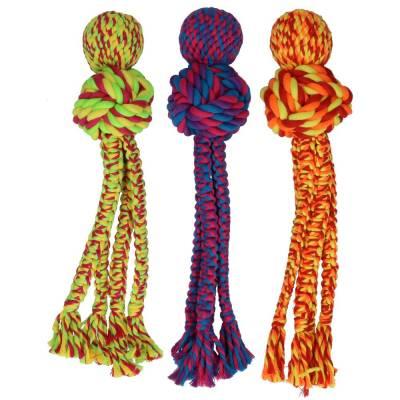 Spielzeugseil leicht zu werfen L, Material:Natürliche Baumwolle,Größe:36 cm