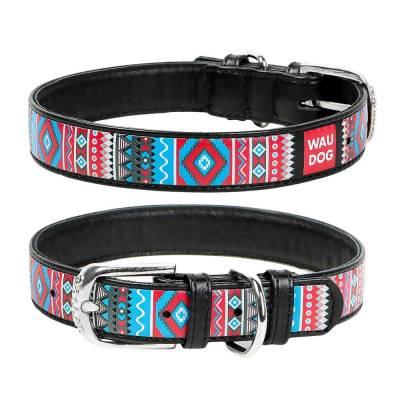 WAUDOG Hundehalsband Leder verschiedene Größen
