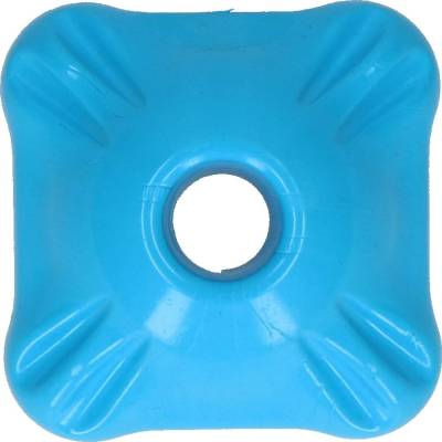 Hunde Spielzeug Jolly Flex-n-Chew Squarble Blau M, Maße:7 cm x 7 cm