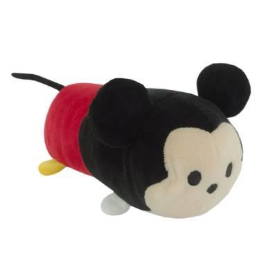 Hunde Kuscheltier Stofftier Disney Tsum Tsum Mickey Mouse M, Höhe:90 mm,Länge:250 mm,Breite:90 mm
