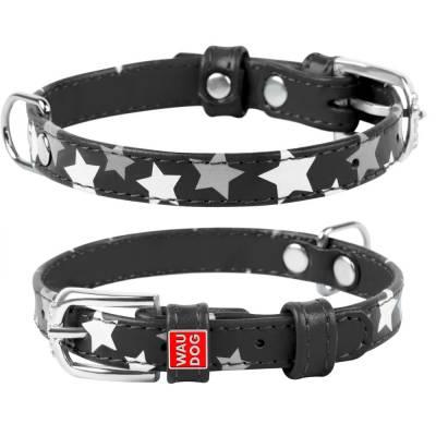 WAUDOG Lederhundehalsband Halsband versch. Modelle