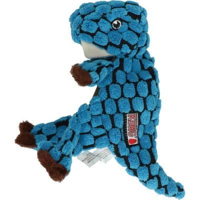 Hundespielzeug Kong T-Rex Blau verstärkten Futter Maße:5 cm x 210 mm x 7,5 cm