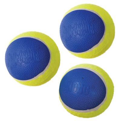 Hunde Spielzeug Ball Kong Ultra-SqueakAir Ball M, Inhalt:2 Stück,durchmesser:6 cm