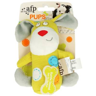 Hunde Kuscheltier Stofftier AFP Pups Mini-Stick, Länge:15,5 cm,Breite:10,5 cm