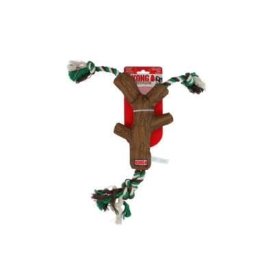 Hunde Spielzeug Kong FetchStix mit Seil M, Größe:200 mm