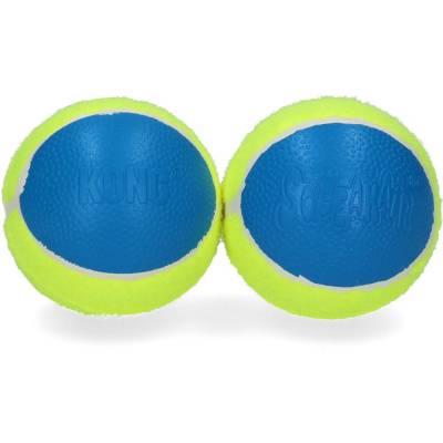Hunde Spielzeug Ball Kong Ultra-SqueackAir Ball-L, Inhalt:2 Stück,Durchmesser:8 cm