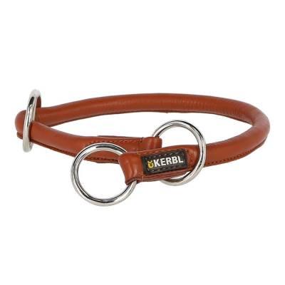 Rundleder-Halsband Roma mit Stopper versch. Modelle
