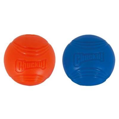 Hunde Spielzeug Ball Chuckit Strato Kugel S im 2er-Pack,Durchmesser:5 cm