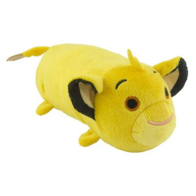Hunde Kuscheltier Stofftier Disney Tsum Tsum Simba M, Höhe:90 mm,Länge:250 mm,Breite:90 mm