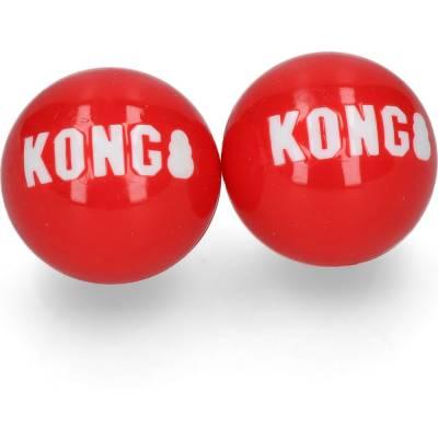 Hundespielzeug Ball Kong extrem Robust extra Sprungkraft Inhalt:2 Stück,Länge:1150 mm