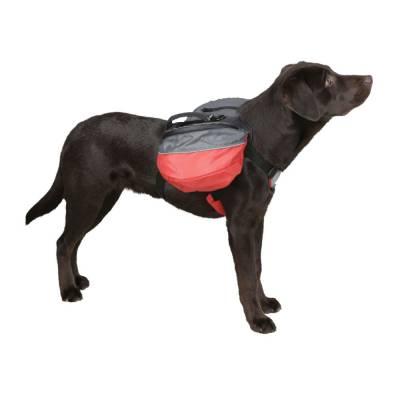 Rucksack für Hunde rot anthrazitSchwarz versch. Größen