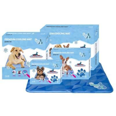 Hunde Matte CoolPets Premium-Kühlmatte L, Maße:90 x 60 cm