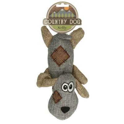 Hunde Kuscheltier Stofftier Land Hund Nelly, Maße:24 x 10 cm