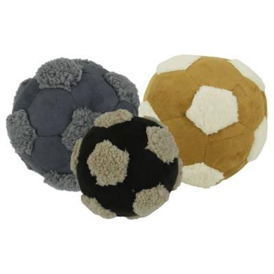 Hunde Kuscheltier Stofftier AFP Lammwolle Kuschel Fußball, Durchmesser:15 cm