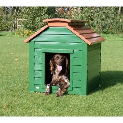 Hundehütte Bungalow L, Maße:85 cm x 66 cm x 75 cm