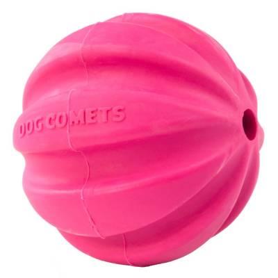 Hunde Spielzeug Ball Hund Kometen Halley Ball Rosa, Durchmesser:6 cm
